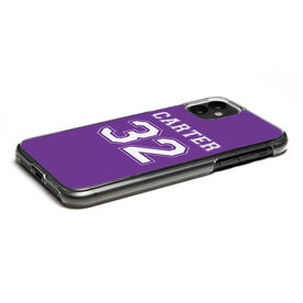 Personalized iPhone® Case - Player Name and Number