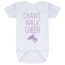 Cheerleading Baby One-Piece - Crawl Walk Cheer