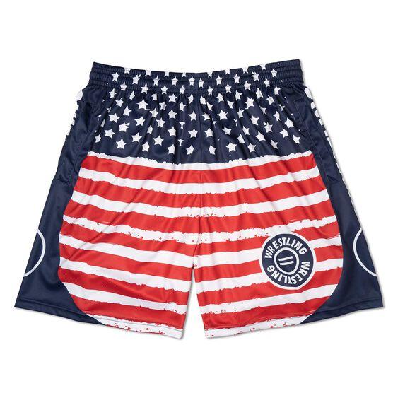Wresting Patriotic Shorts
