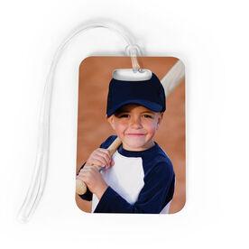 Baseball Bag/Luggage Tag - Custom Photo