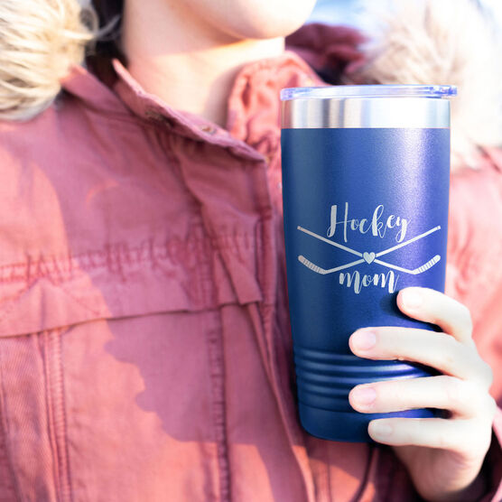 Hockey 20oz. Double Insulated Tumbler - Hockey Mom