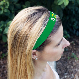 Soccer Juliband No-Slip Headband - Ball Icons with Number