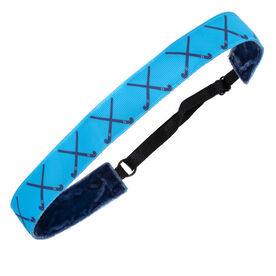 Field Hockey Juliband Non-Slip Headband - Field Hockey Crossed Sticks