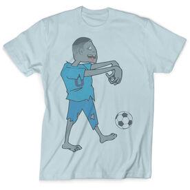 Vintage Soccer T-Shirt - Zombie