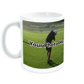 Golf Coffee Mug Custom Photo