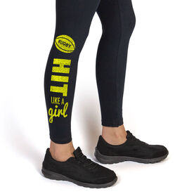 Rugby Leggings Hit Like A Girl