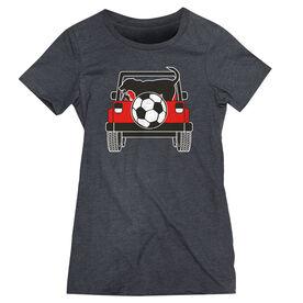 Soccer Women's Everyday Tee - Soccer Cruiser
