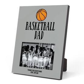 Basketball Photo Frame - Basketball Dad With Basketball