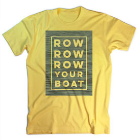 Vintage Crew T-Shirt - Row Row Row Your Boat