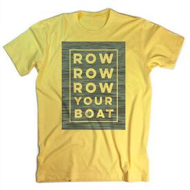 Vintage Crew T-Shirt - Row Row Row Your Boat