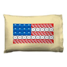 Triathlon Pillowcase - Flag With Elements