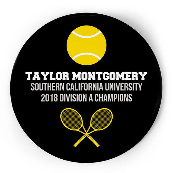 Tennis Circle Plaque - Team Ball
