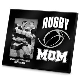 Rugby Photo Frame Rugby Mom