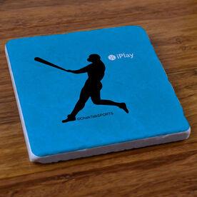 iPlay Baseball - Stone Coaster