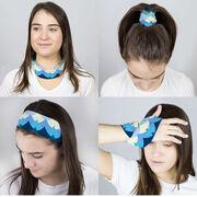 Swimming Multifunctional Headwear - Waves RokBAND