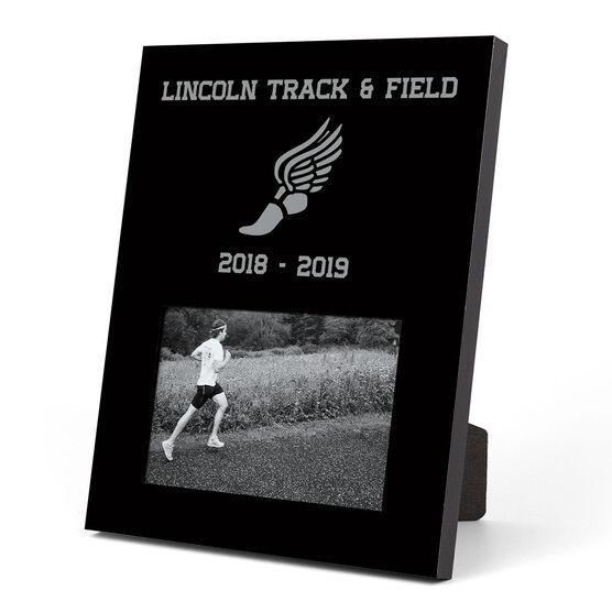 Track And Field Photo Frame Team Chalktalksports