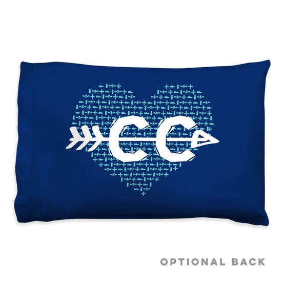 Cross Country Pillowcase - Love
