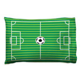 Soccer Pillowcase - Field