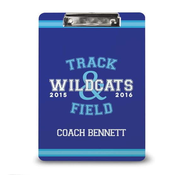 Track and Field Custom Clipboard Track and Field Team