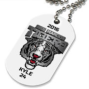 Custom Printed Dog Tag Necklace