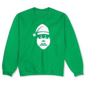 Baseball Crew Neck Sweatshirt - Ho Ho Homerun