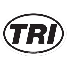 TRI Decal (White/Black)