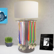 Skiing and Snowboarding Tabletop Medal Display Lamp