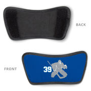Hockey Repwell® Sandal Straps - Goalie with Number