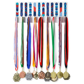 Snowboarding Hooked on Medals Hanger - Snowboards Colorful