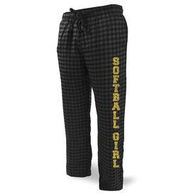 Softball Lounge Pants Softball Girl