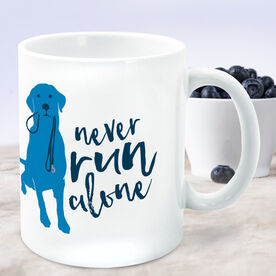 Running Coffee Mug Never Run Alone