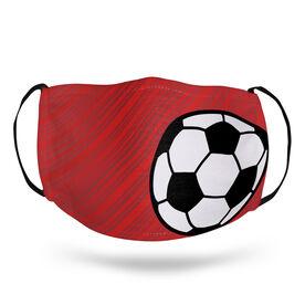 Soccer Face Mask - Lightning Soccer