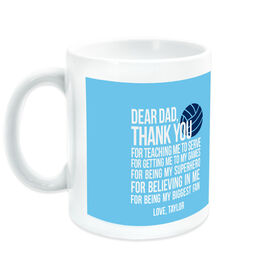 Volleyball Coffee Mug Dear Dad
