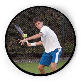 Tennis Circle Plaque - Custom Photo