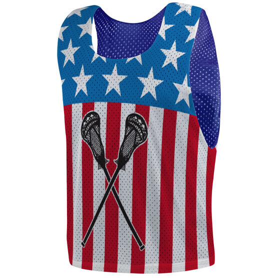 Guys Lacrosse Pinnie - USA Lax