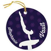 Gymnastics Porcelain Ornament Vault