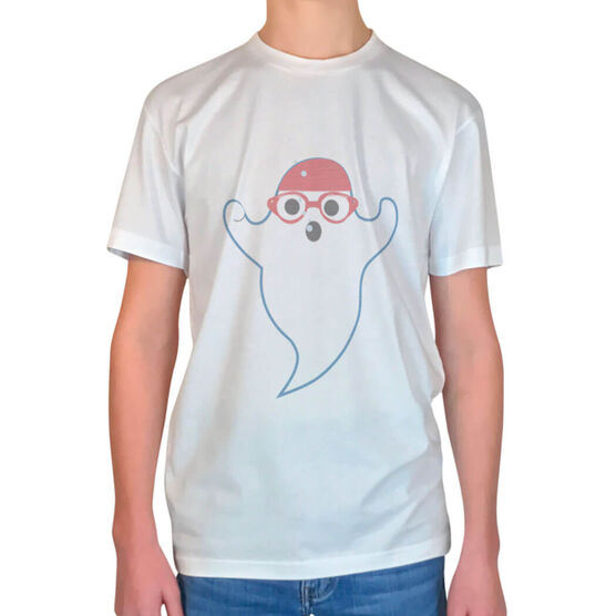 Vintage Swimming T-Shirt - Ghost