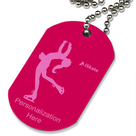 iSkate Printed Dog Tag Necklace