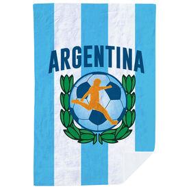 Soccer Premium Blanket - Argentina Soccer