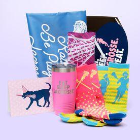 Girls Lacrosse Birthday Sportzbox - Lula Lax Dog Birthday