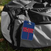 Girls Lacrosse Bag/Luggage Tag - Eat Sleep Lacrosse