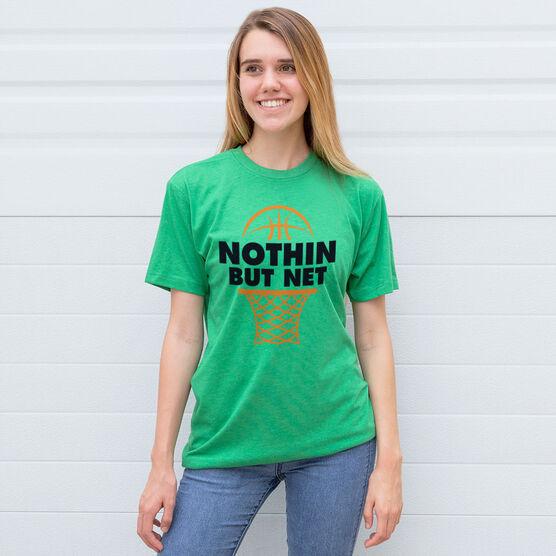 Basketball Tshirt Short Sleeve Nothin But Net