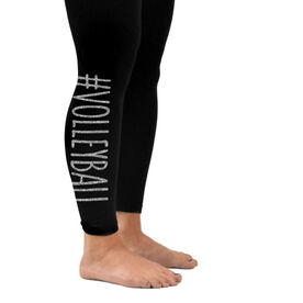 Volleyball Leggings #Volleyball
