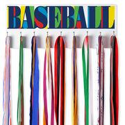 Baseball Hooked on Medals Hanger - Baseball Mosaic