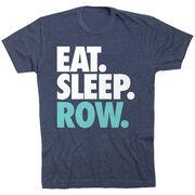 Crew T-Shirt Short Sleeve Eat. Sleep. Row.