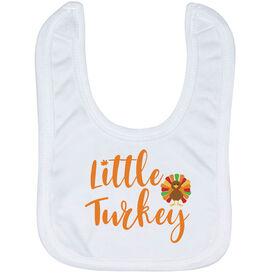 Baby Bib - Little Turkey