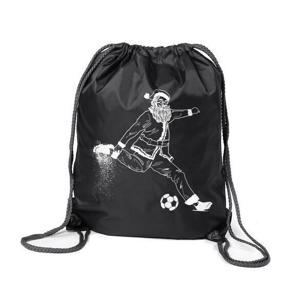 Soccer Sport Pack Cinch Sack - Santa Player