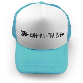 Running Trucker Hat - Run All Trails