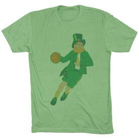 Basketball Vintage Lifestyle T-Shirt - Leprechaun