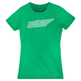 Women's Everyday Runners Tee Tennessee State Runner